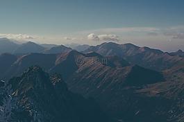 山,風景,景觀