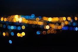 光斑,夜景,風景