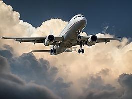 飞机,喷气式飞机,着陆