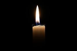 蜡烛,光,烛火