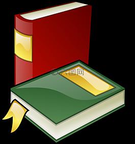 书籍,库,教育