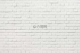 砖,墙,白色的砖墙