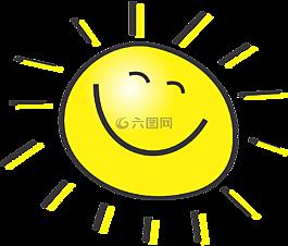 太阳,快乐,阳光