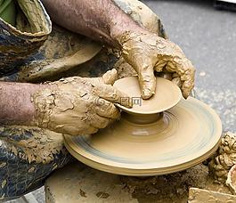 陶瓷,粘土,藝術