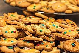 圣诞饼干,饼干,圣诞节