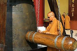 台湾,僧人,钟
