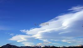 天空,山,云計算