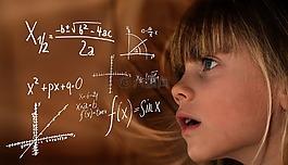 學習,數學,孩子