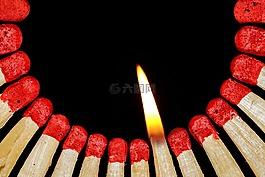 比賽,火焰,匹配