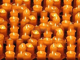 蜡烛,光,灯