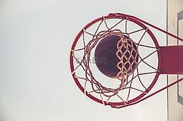 篮,球,游戏