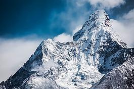ama dablam,喜馬拉雅山,山