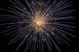 煙花,新年除夕,光明