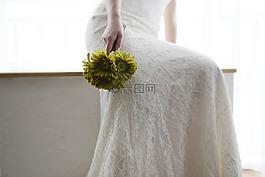 婚纱,幸福,新娘