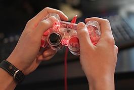 游戏玩家,手,游戏