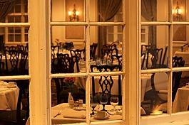 餐廳,窗口,表設置