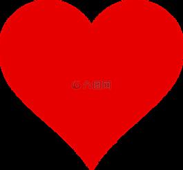 紅色,心,健康