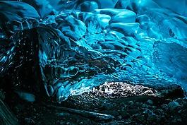冰,凍結,水