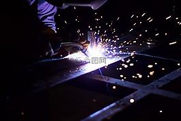 金屬加工,鐵,火花