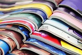 杂志,颜色,媒体