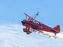 飞机,双层,wingwalker