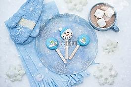 熱巧克力,雪,冬天