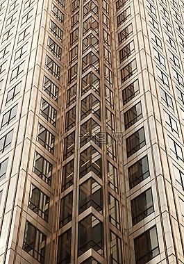 棕色,現代建筑,辦公室