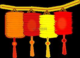 灯笼,纸,中国的灯笼