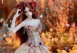 娃娃,裙子,颜色