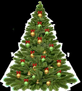 圣诞树,假期,圣诞节