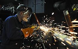 建设,工人,金属