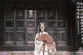 中國,古風,少女