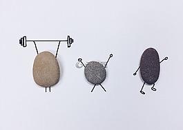 石,藝術,工藝