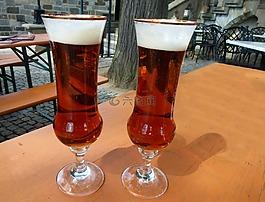 眼镜,啤酒,啤酒眼镜