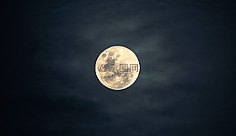 月亮,天空,夜