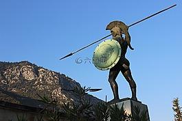 希腊,300,雕像