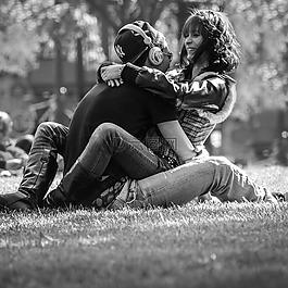 夫婦,青春,戀愛中