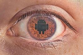 眼,android 系统,虹膜