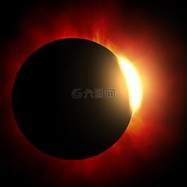 日食,太陽,月亮
