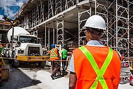 建設,工人,安全