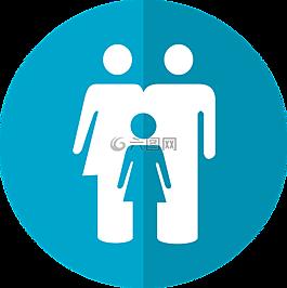 家庭的圖標,家庭,圖標