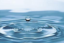 水滴,水,性質