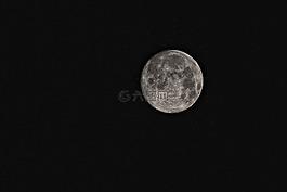 月球,超級月亮,空間