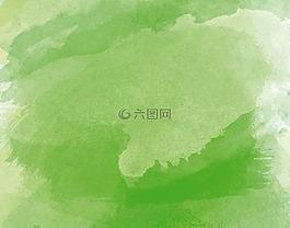水彩,水彩畫,綠色