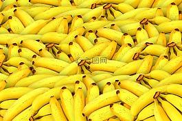 香蕉,水果,黄色