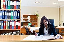 工作,商业妇女,女性