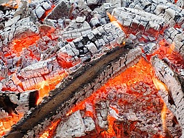 木,火,火焰