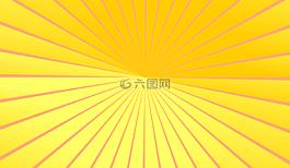 黄色,橙色,光线