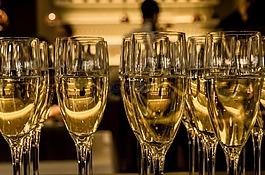香槟,眼镜,豪华
