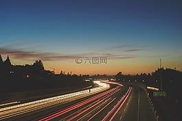 公路,速度,車